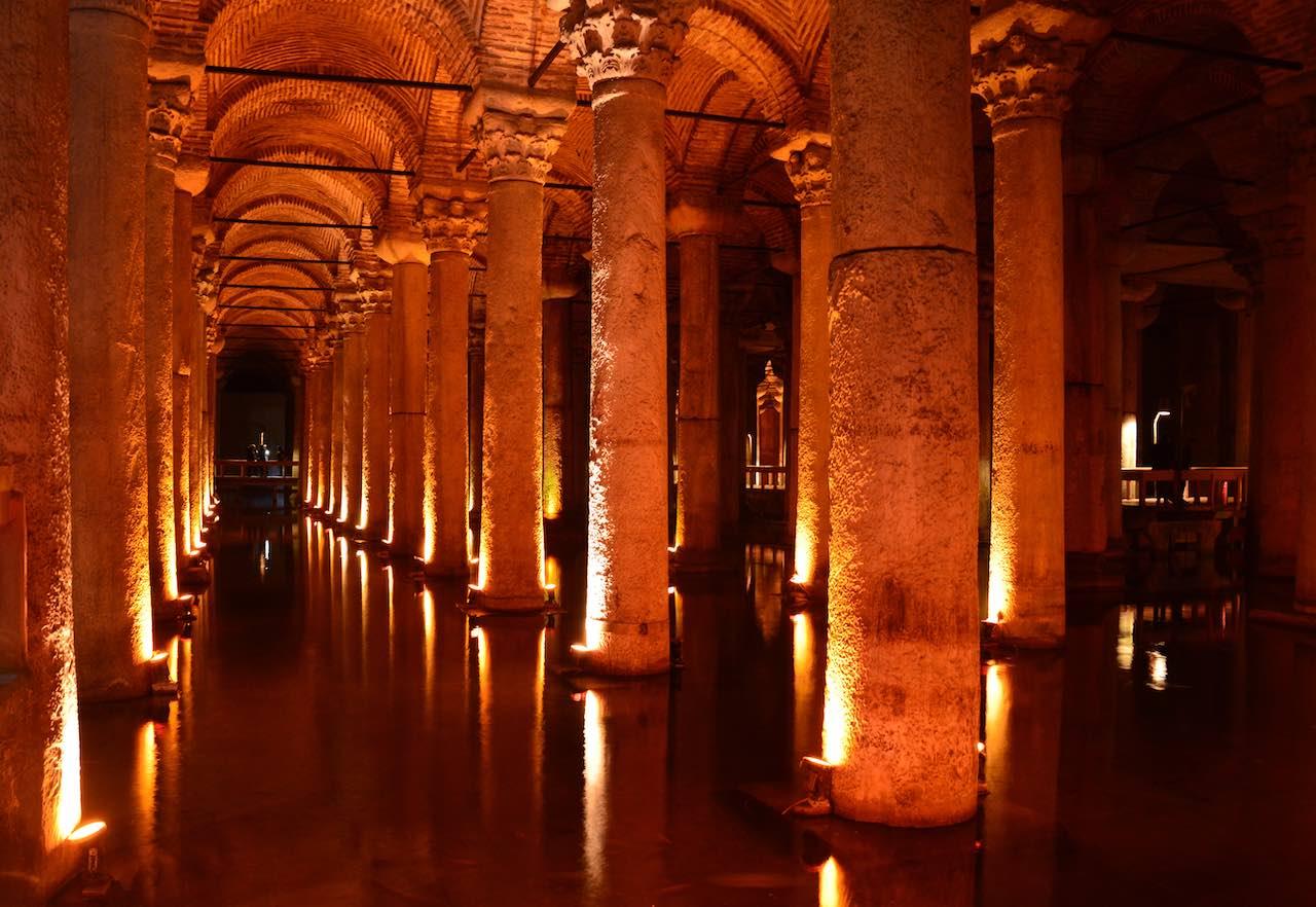 Basilica-Cistern | Photo: Claudia Beyli