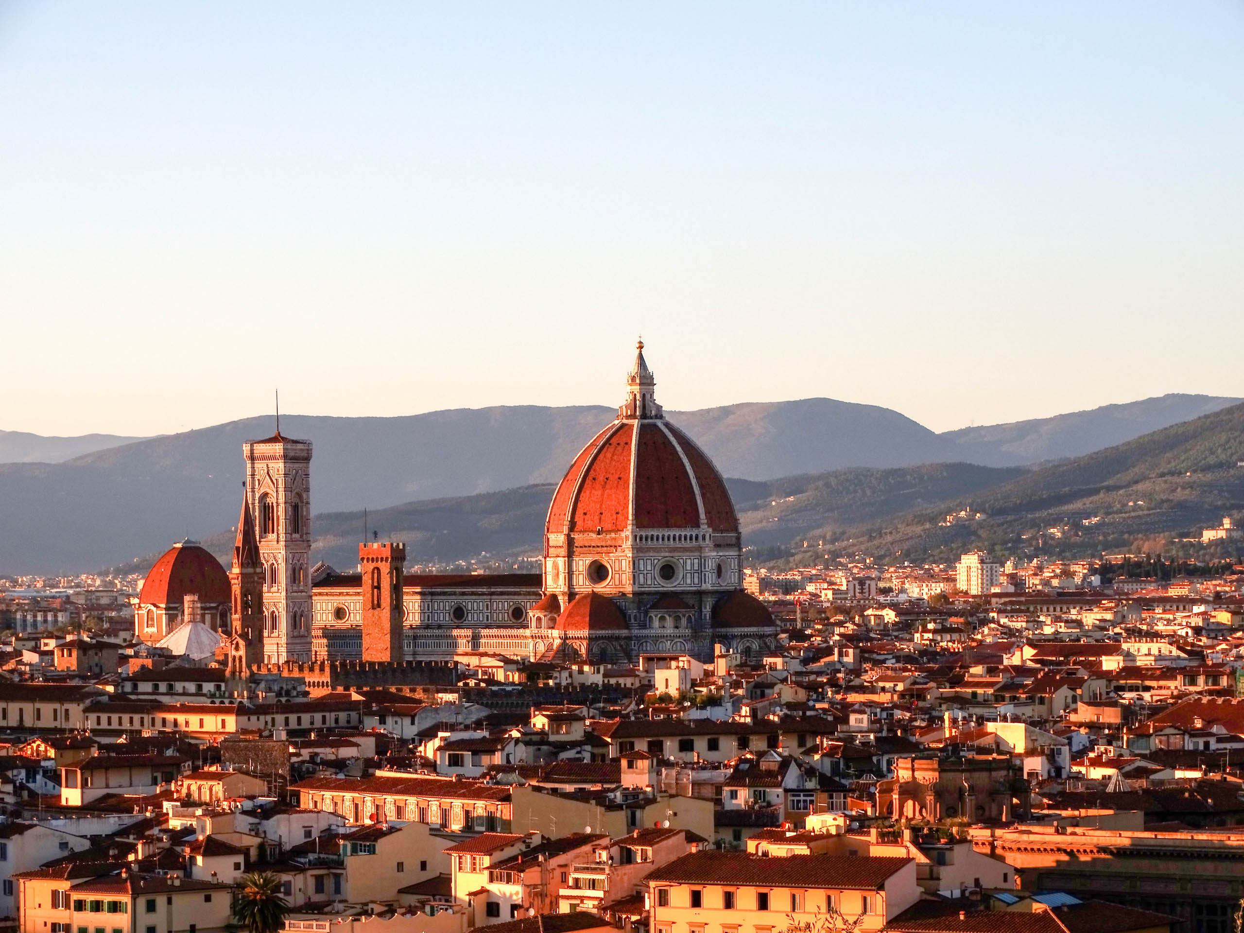 Duomo view in Florence