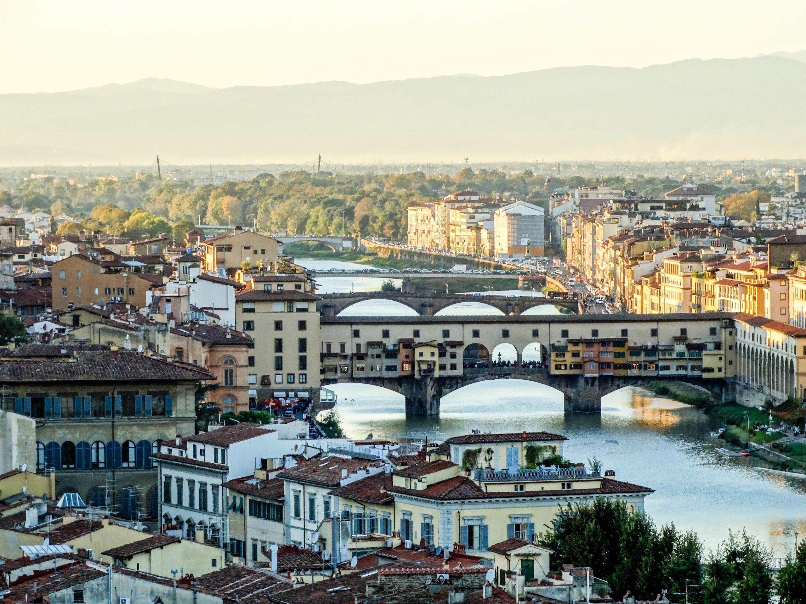 Florence Italy Ponte Vecchio