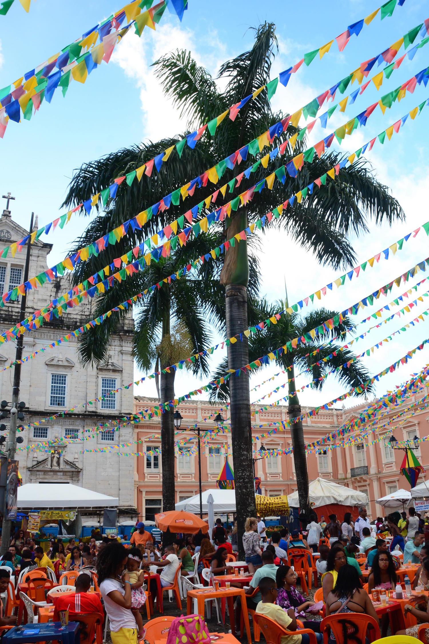 Largo Terreiro de Jesus Salvador Brazil