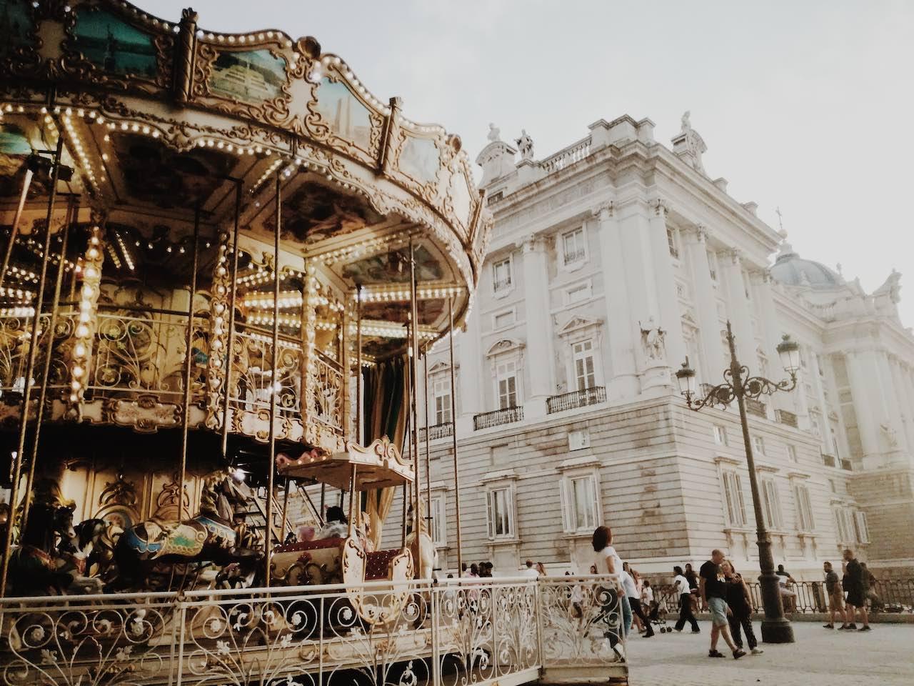 Plaza de Oriente | Photo: Rebe Pascual