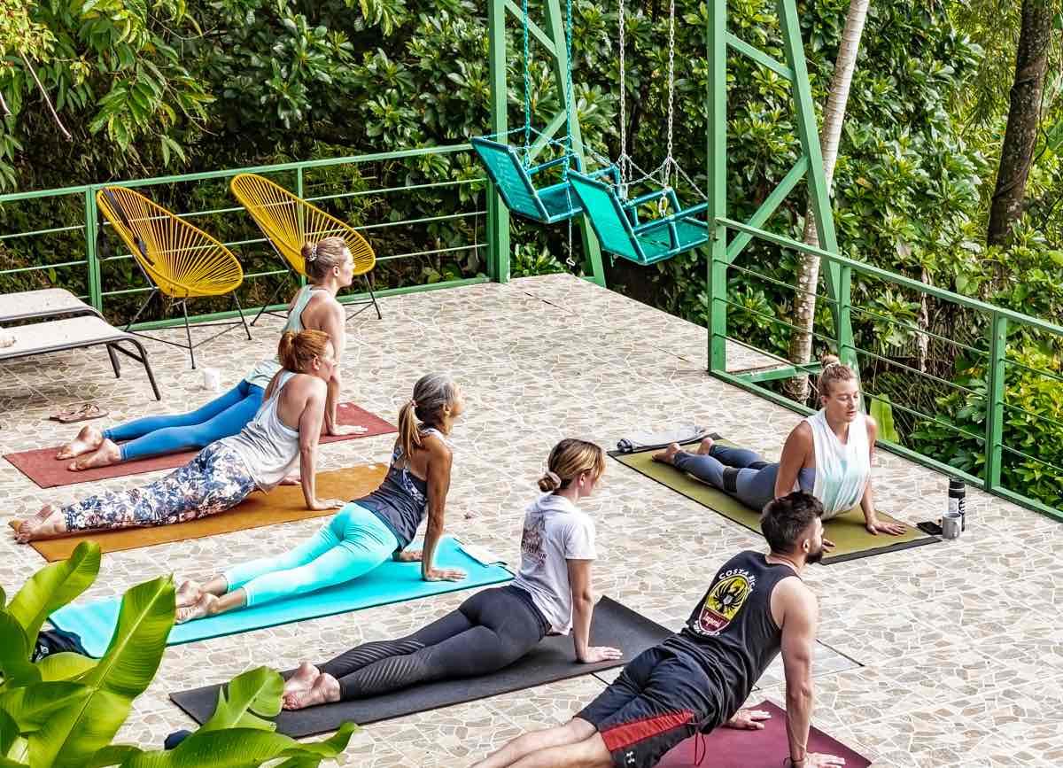 Samasati Yoga and Wellness Retreat Costa Rica Ocean View Yoga