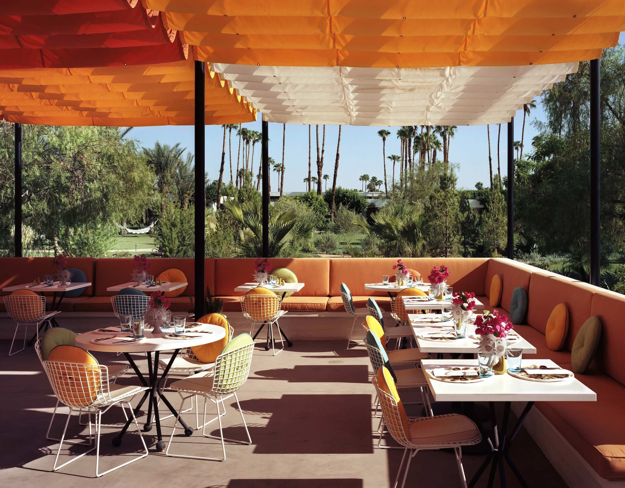 The Parker Palm Springs Norma's Terrace
