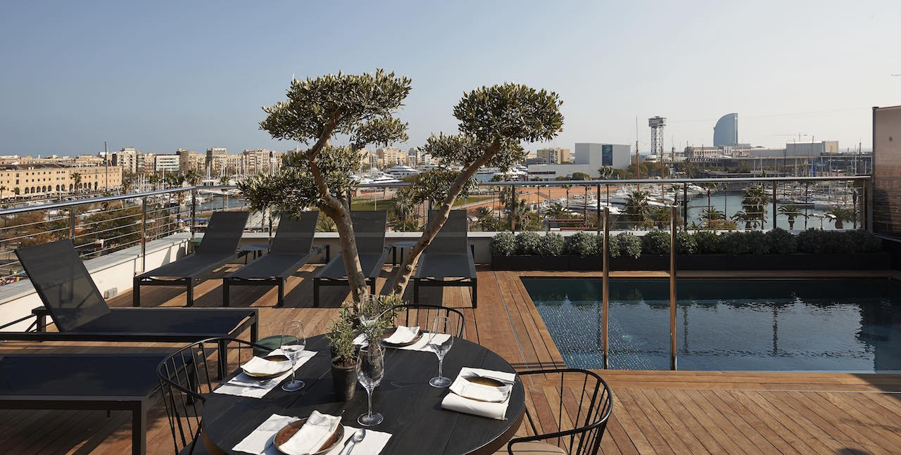 Hotel The Serras Barcelona Rooftop Pool
