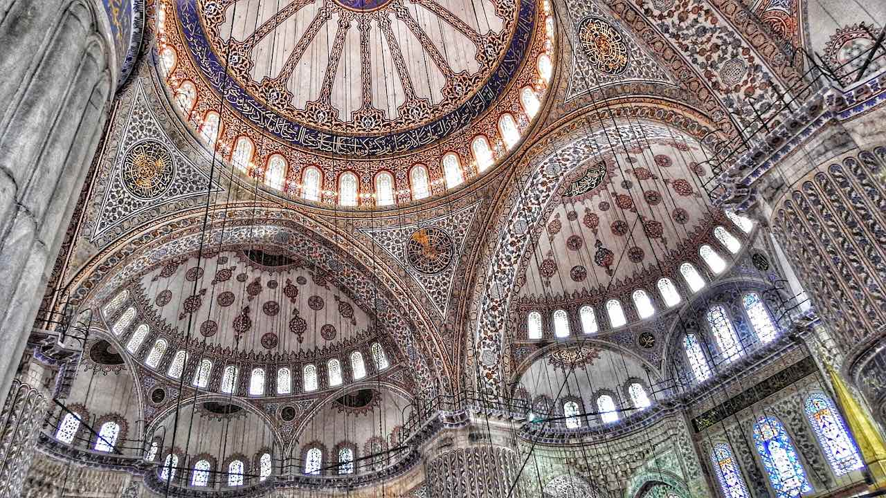 Ceiling Blue Mosque