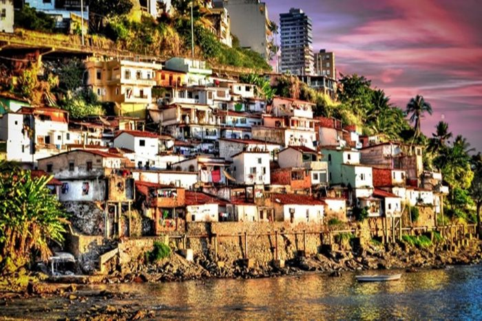 Social Street Art Projects and Favela