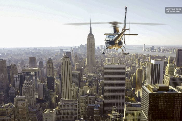 Private Helicopter Tour over New York for Couples