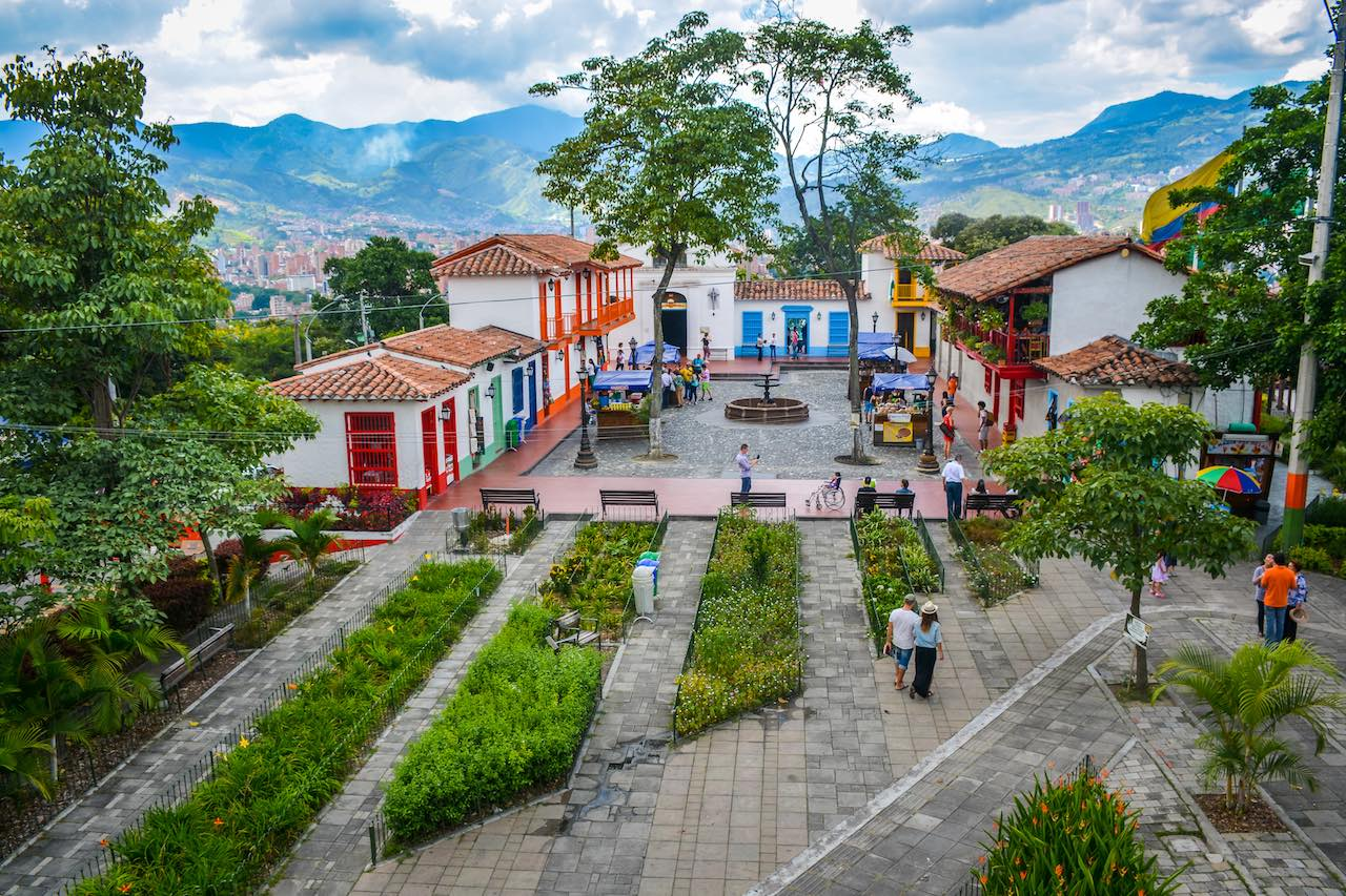 Pueblito Paisa Medellin Colombia