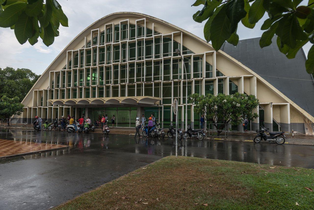 Vann Molyvann Architecture Phnom Penh Cambodia