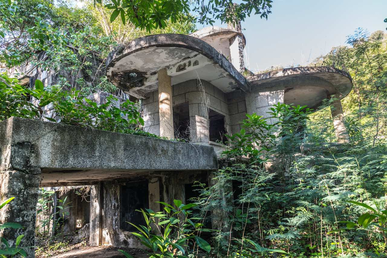Riviera Ruins Kep Cambodia