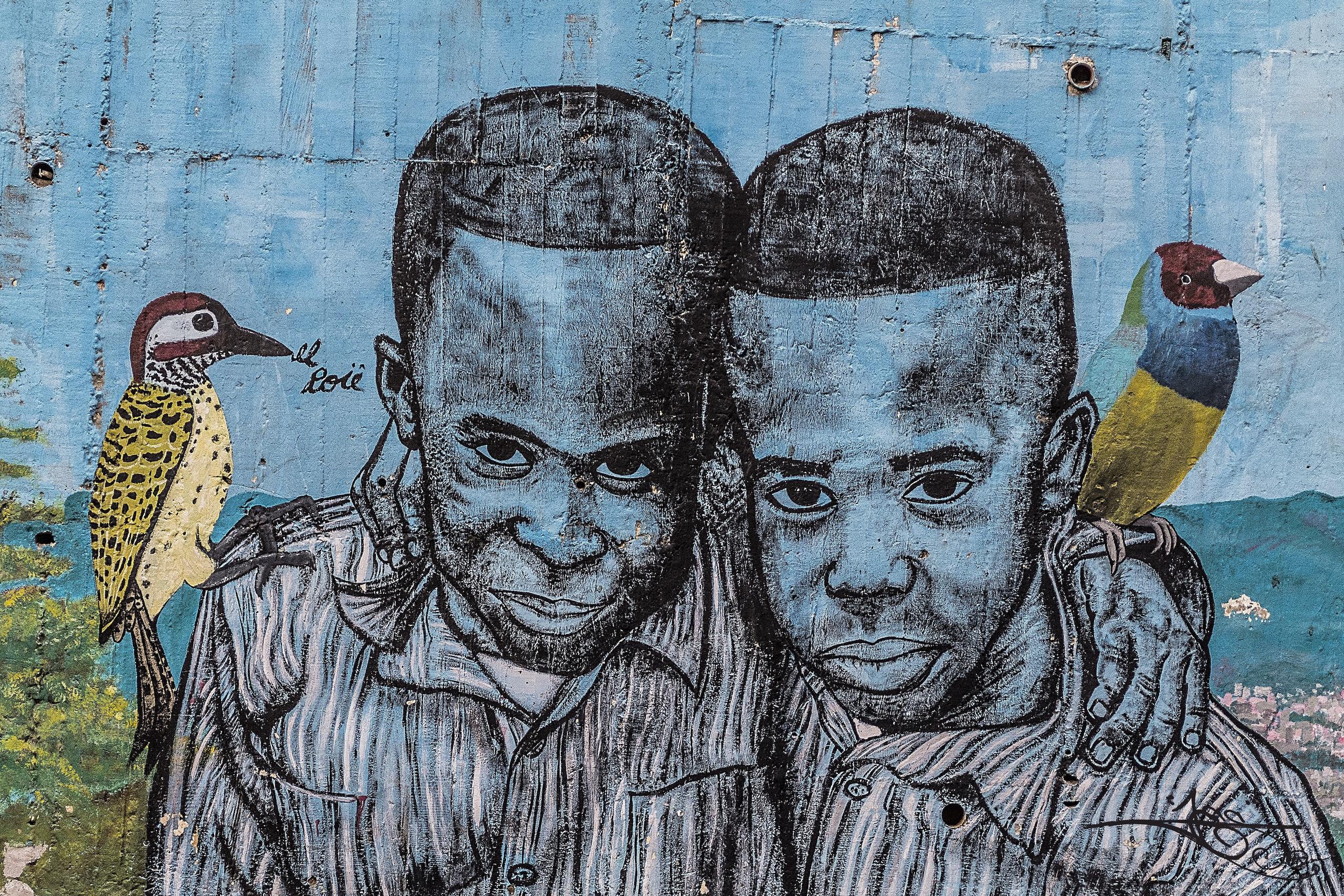 Medellin street art   Photo: Shon Ejai