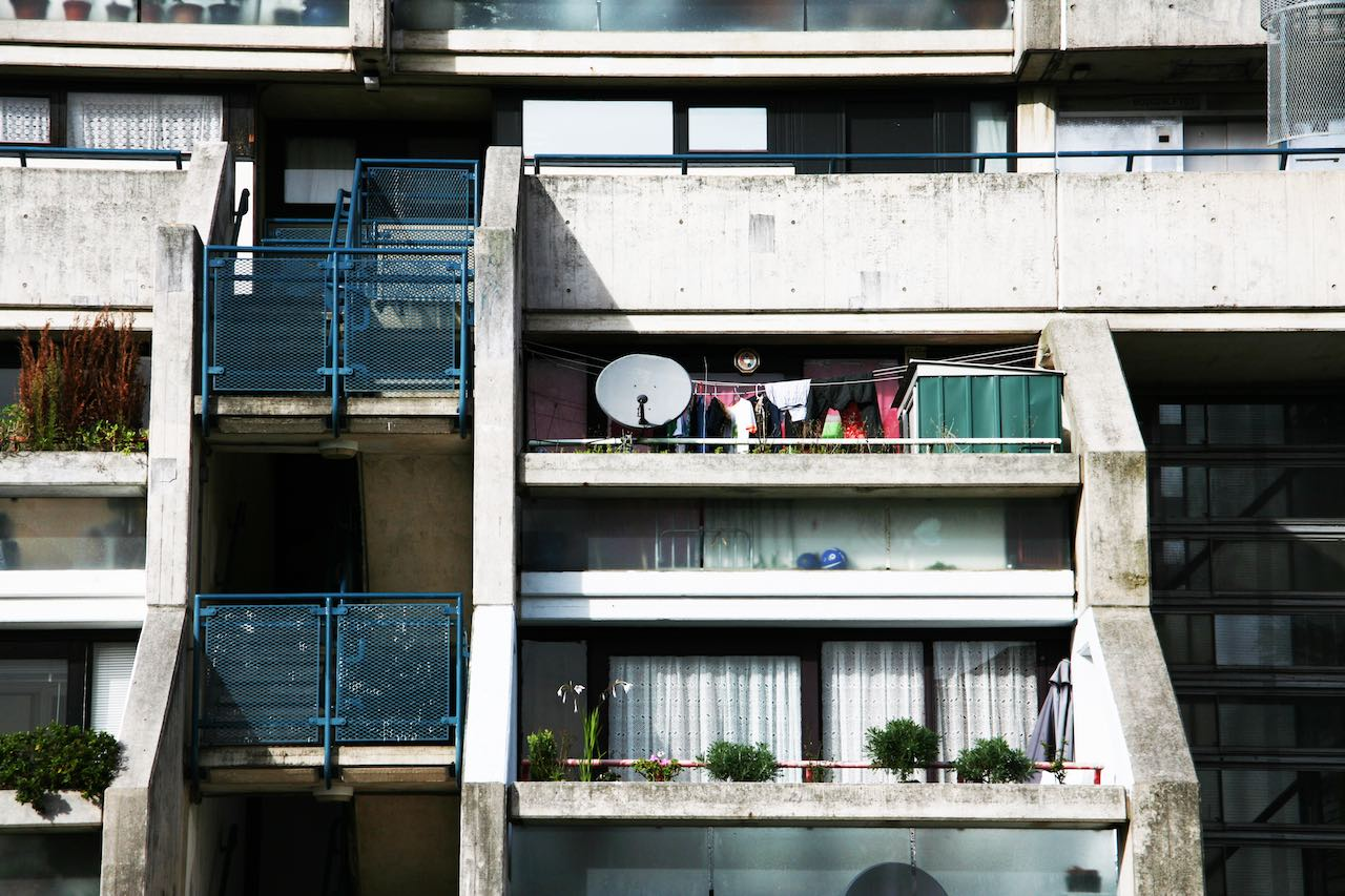 Brutalism Alexandra Road London