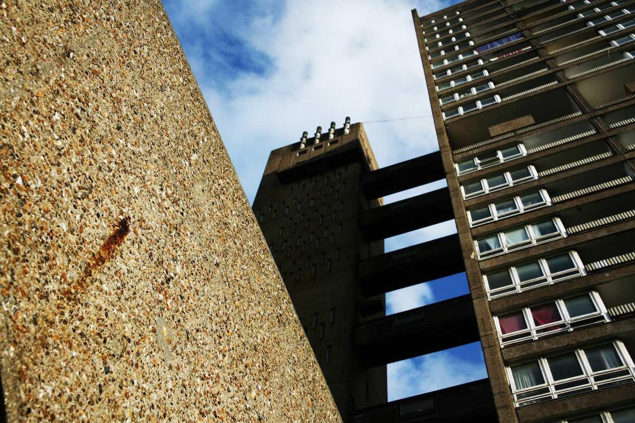 Brutalism Balfron Tower London
