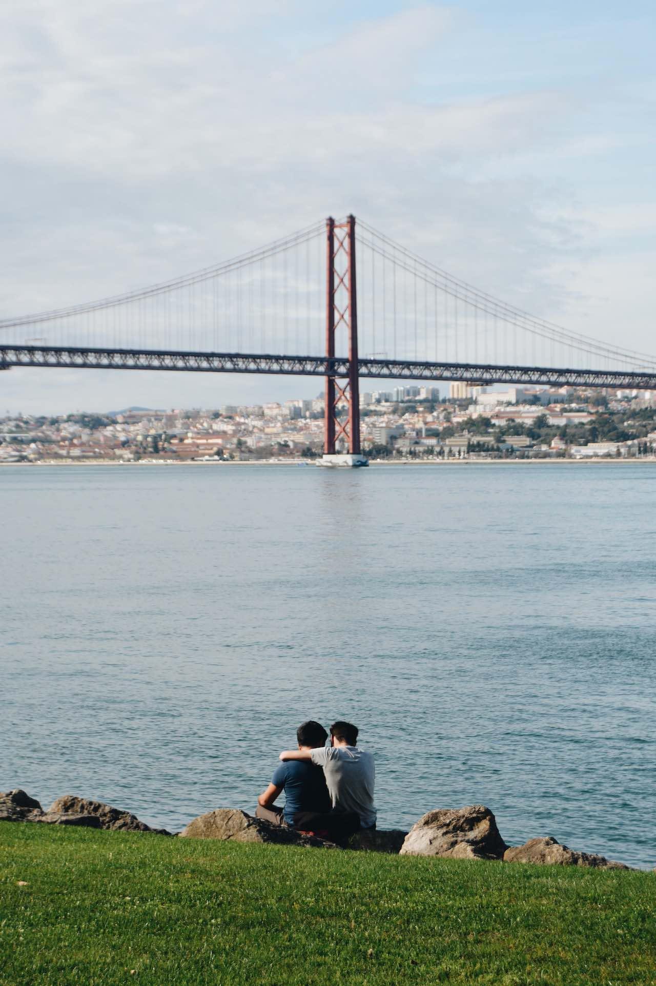 Gay Couple Lisbon