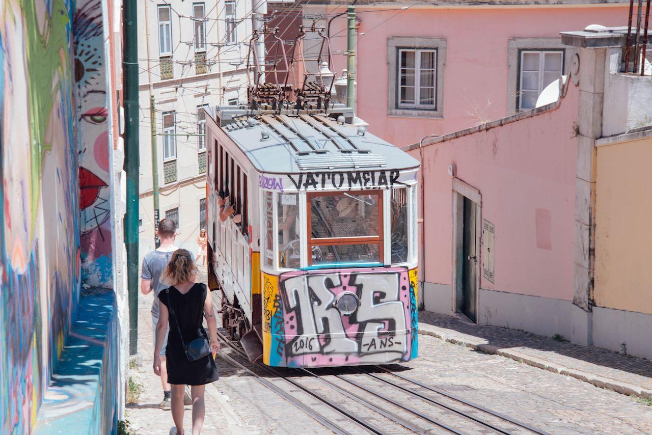 Barrio Alto Lisbon Portugal