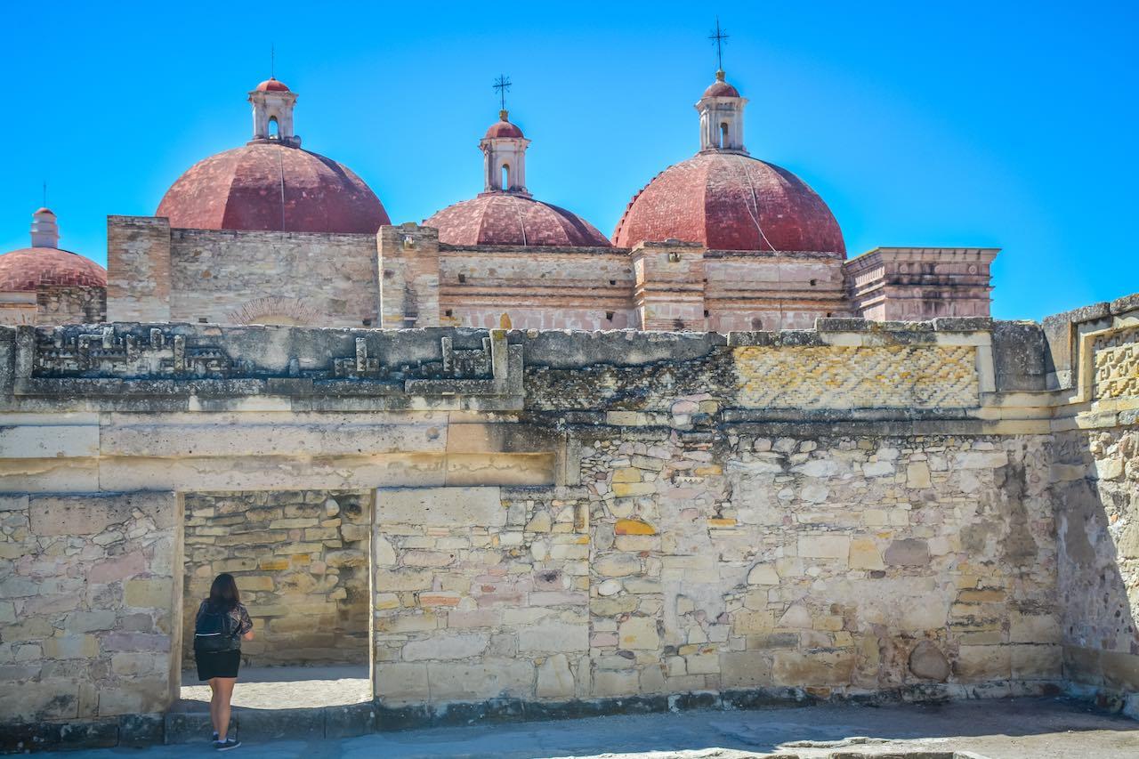 Mitla Zapotec Ruins