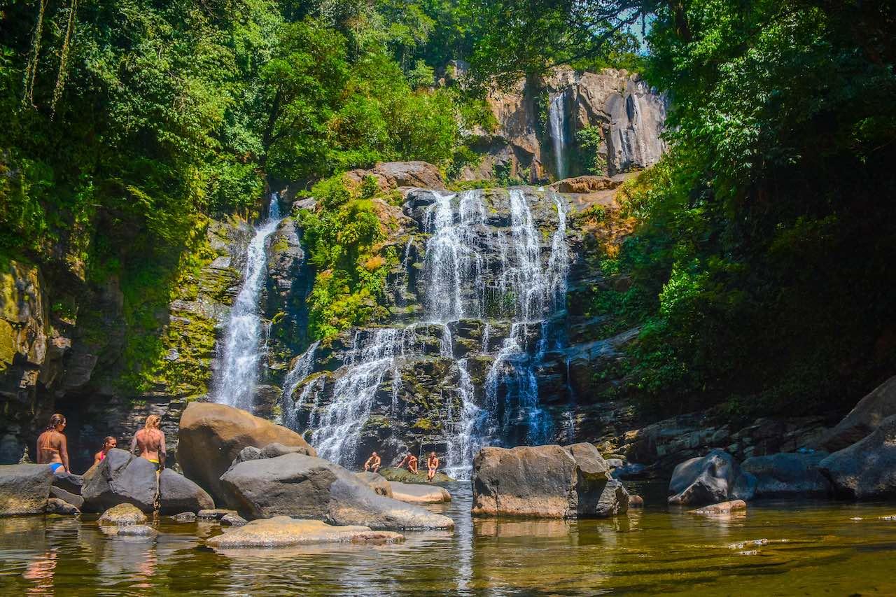 Nauyaca Falls Costa Rica