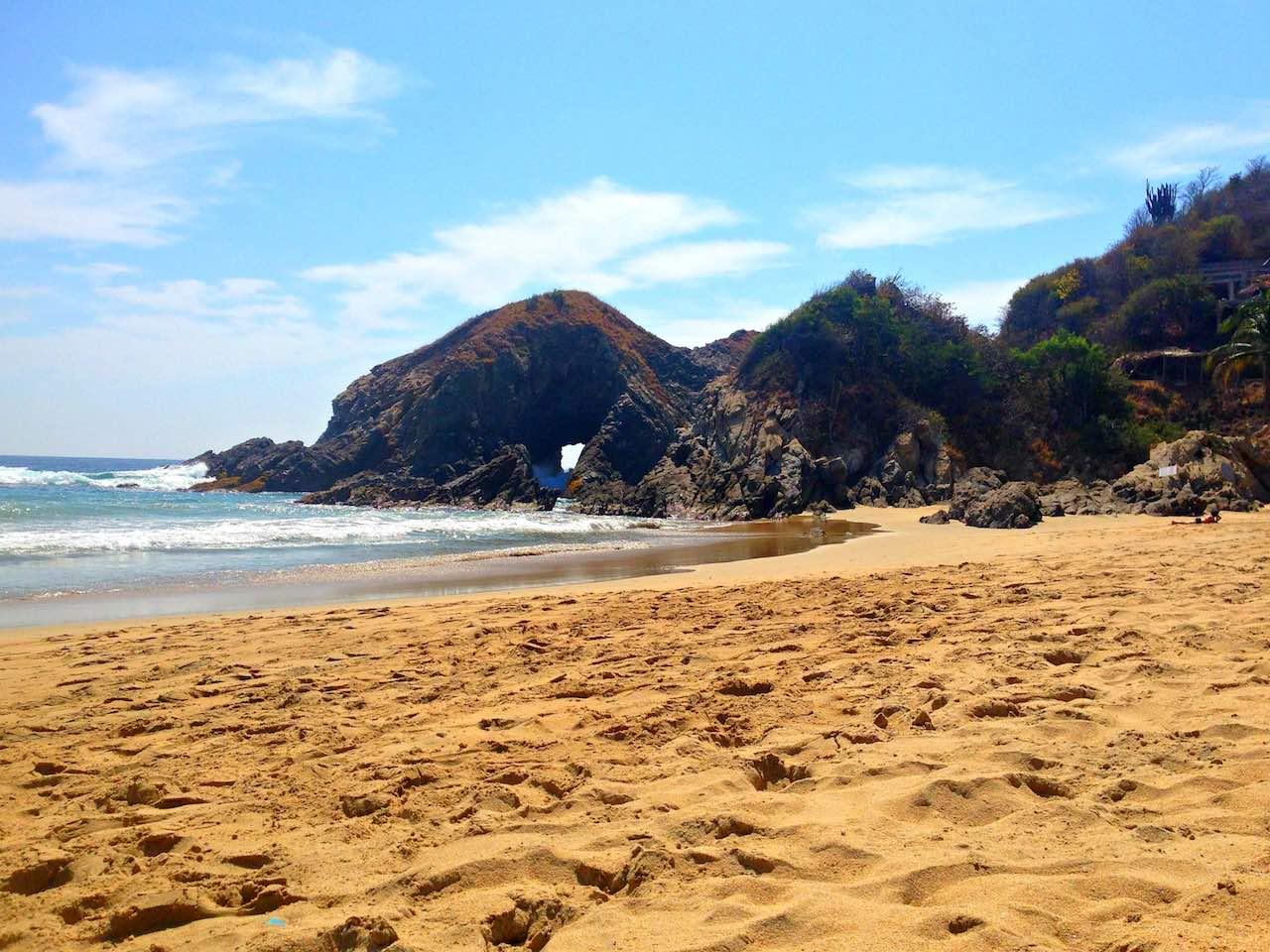 Playa Zipolite   Photo: Dan Moore