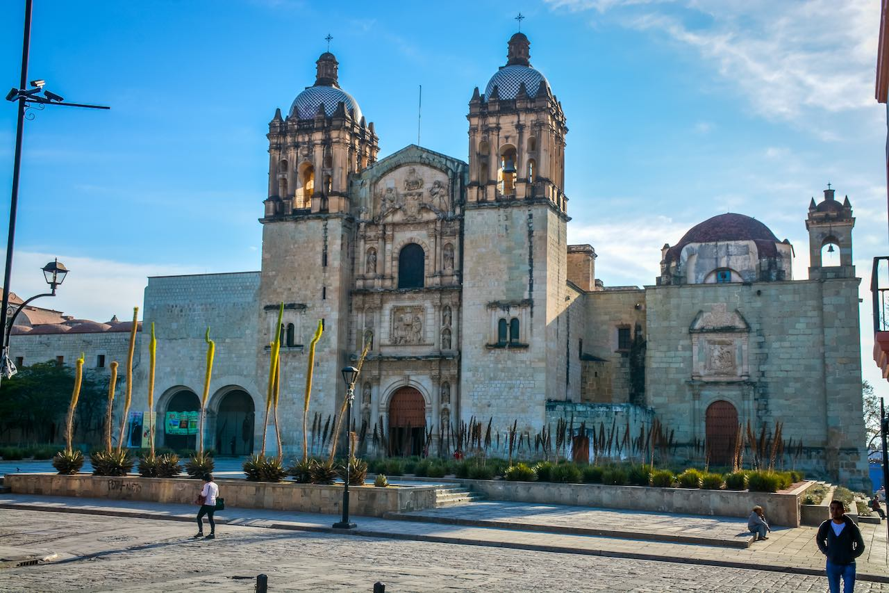 Santo Domingo Church Oaxaca Mexico