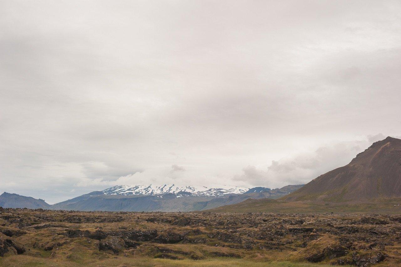 Snæfellsjökull Glacier National Park Iceland