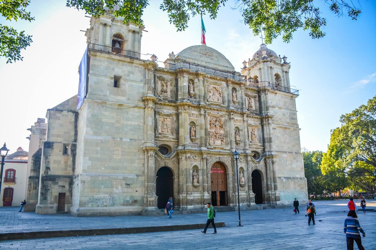 Zocalo Oaxaca Mexico
