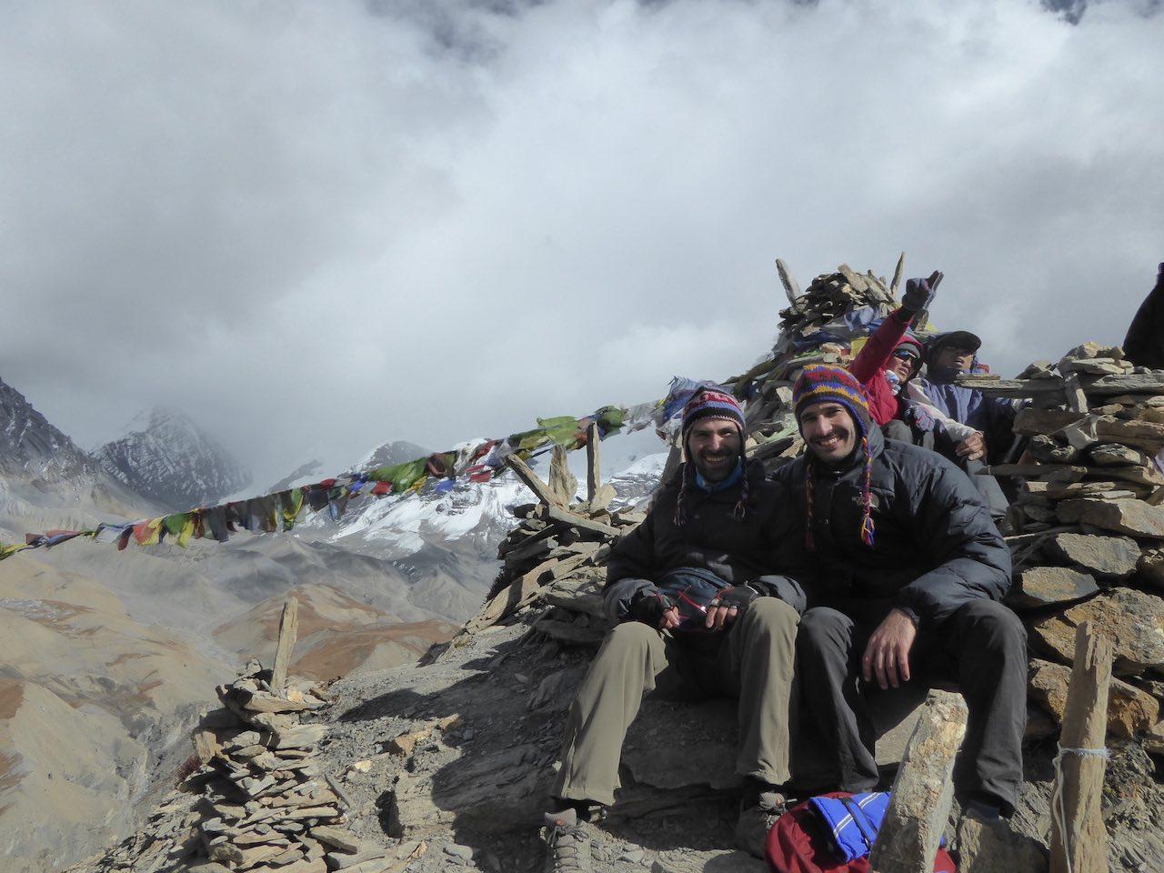 High Camp Base Annapurna Circuit Nepal
