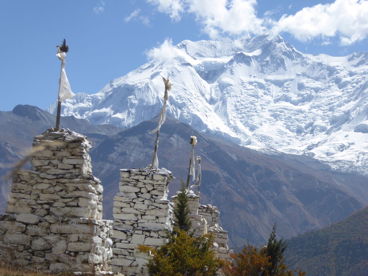 Hundred Lama Temple Annapurna Circuit Nepal