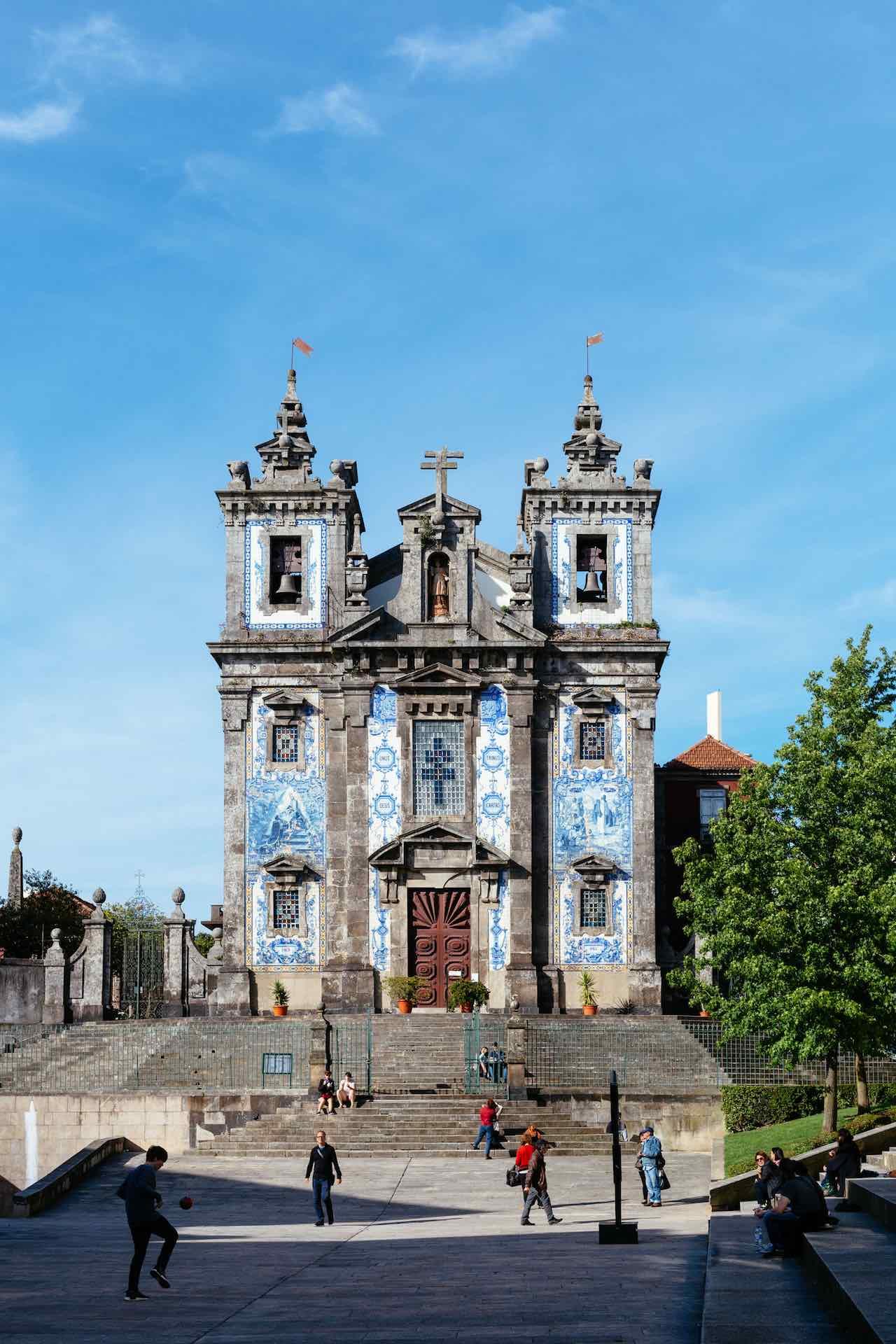 Porto Portugal Igreja St Ildefonso