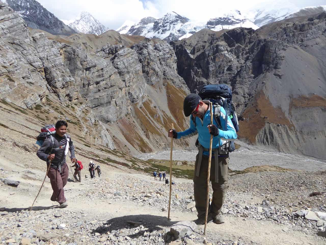 Thorung Phedi Annapurna Circuit Nepal
