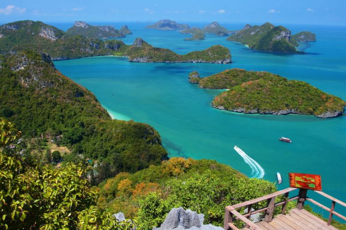 Samui: Angthong National Marine Park Day Trip by Speed Boat