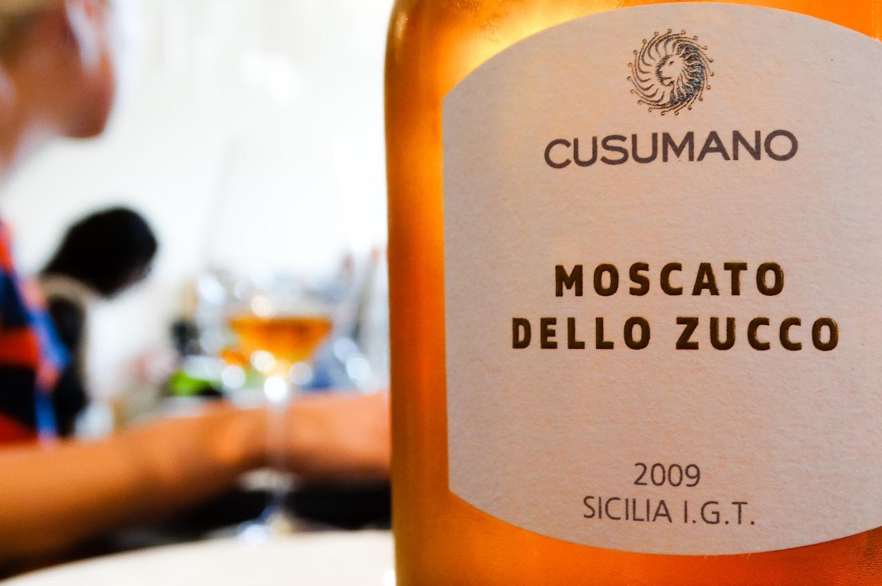 Cusumano Moscato Dello Zucco Wine
