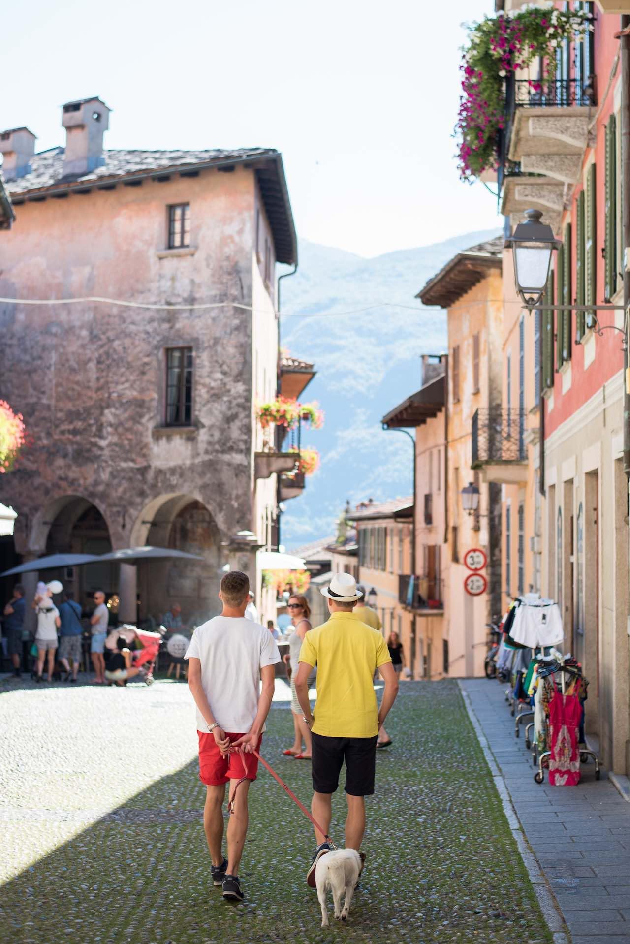 Cannobio Lake Maggiore Italy