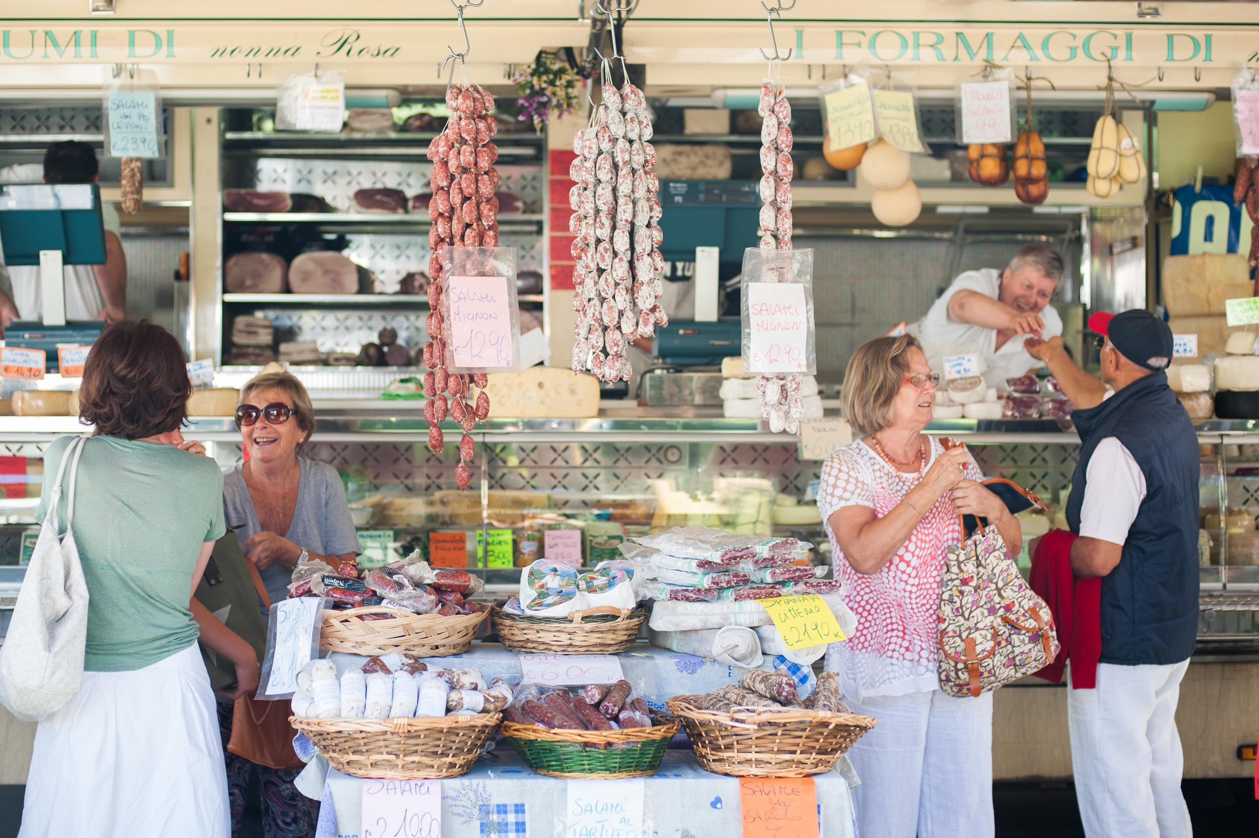 Farmers Market Cannobio Lake Maggiore Italy