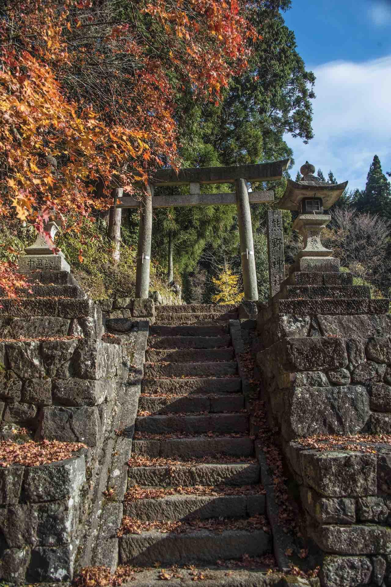 Nakasendo Torii Pass Japan