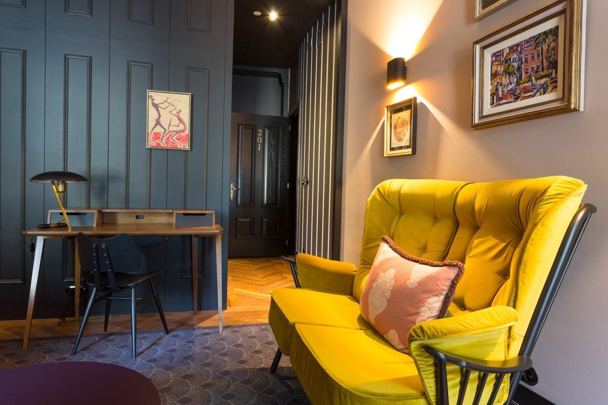 Valverde Hotel Lisbon Interior