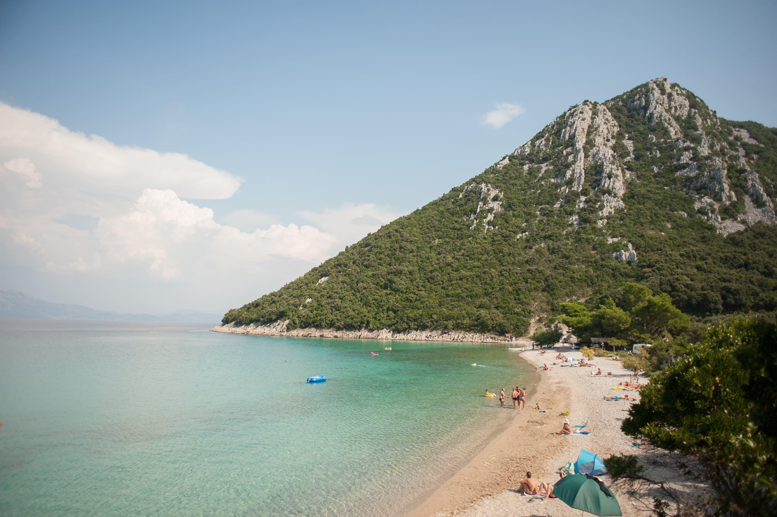 Divna Beach Croatia