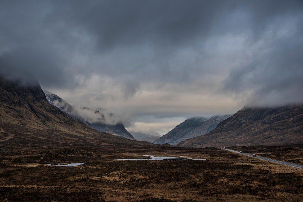 Glencoe Scottish Highlands Scotland