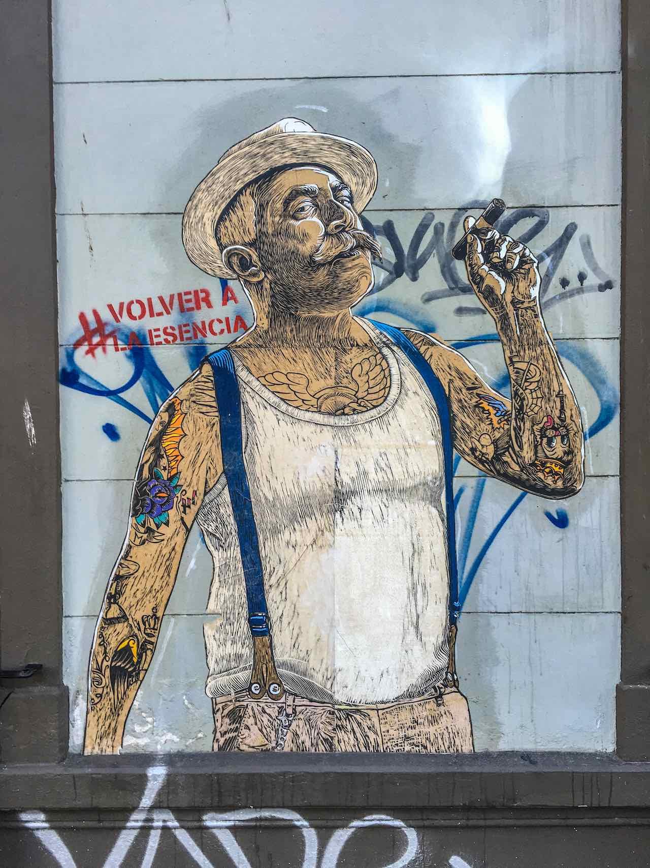 Graffiti Palermo Buenos Aires