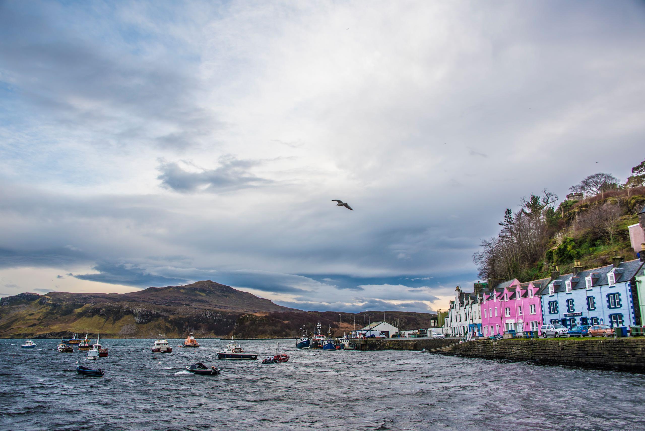 Portree Skye Scotland