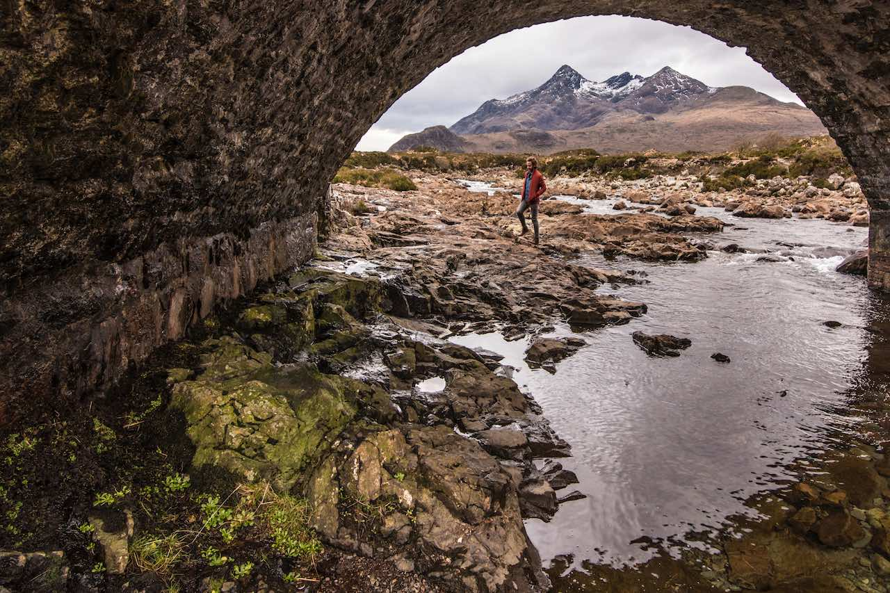 Sligachan Bridge Skye Scotland