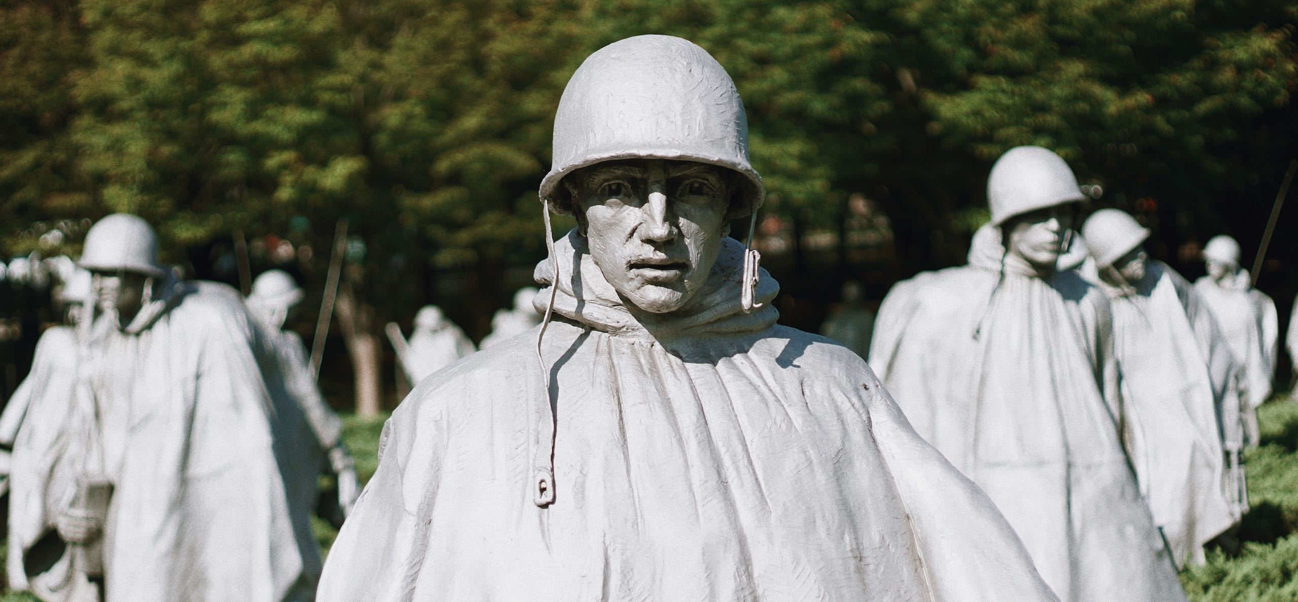 Korean War Memorial | Photo Brian Kraus