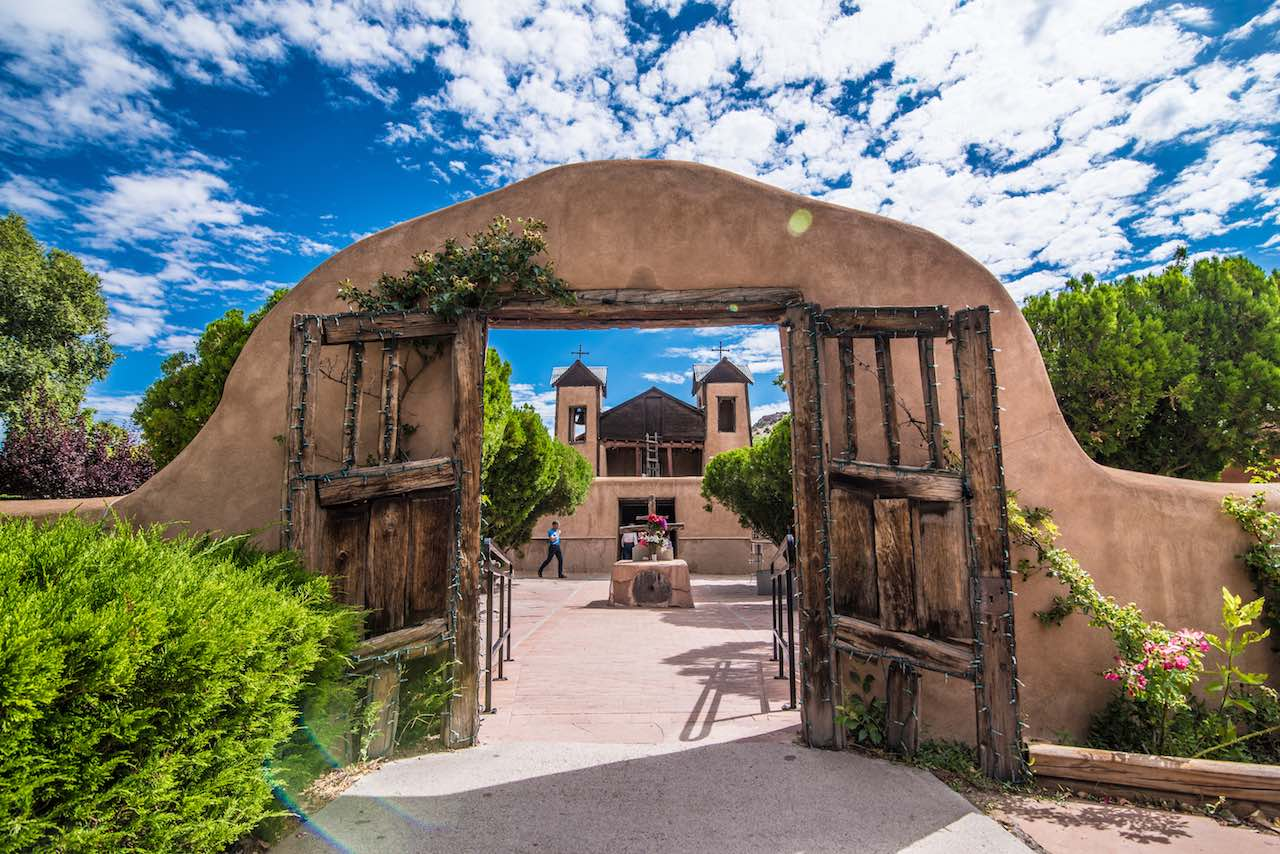 Chimayo High Road to Taos New Mexico
