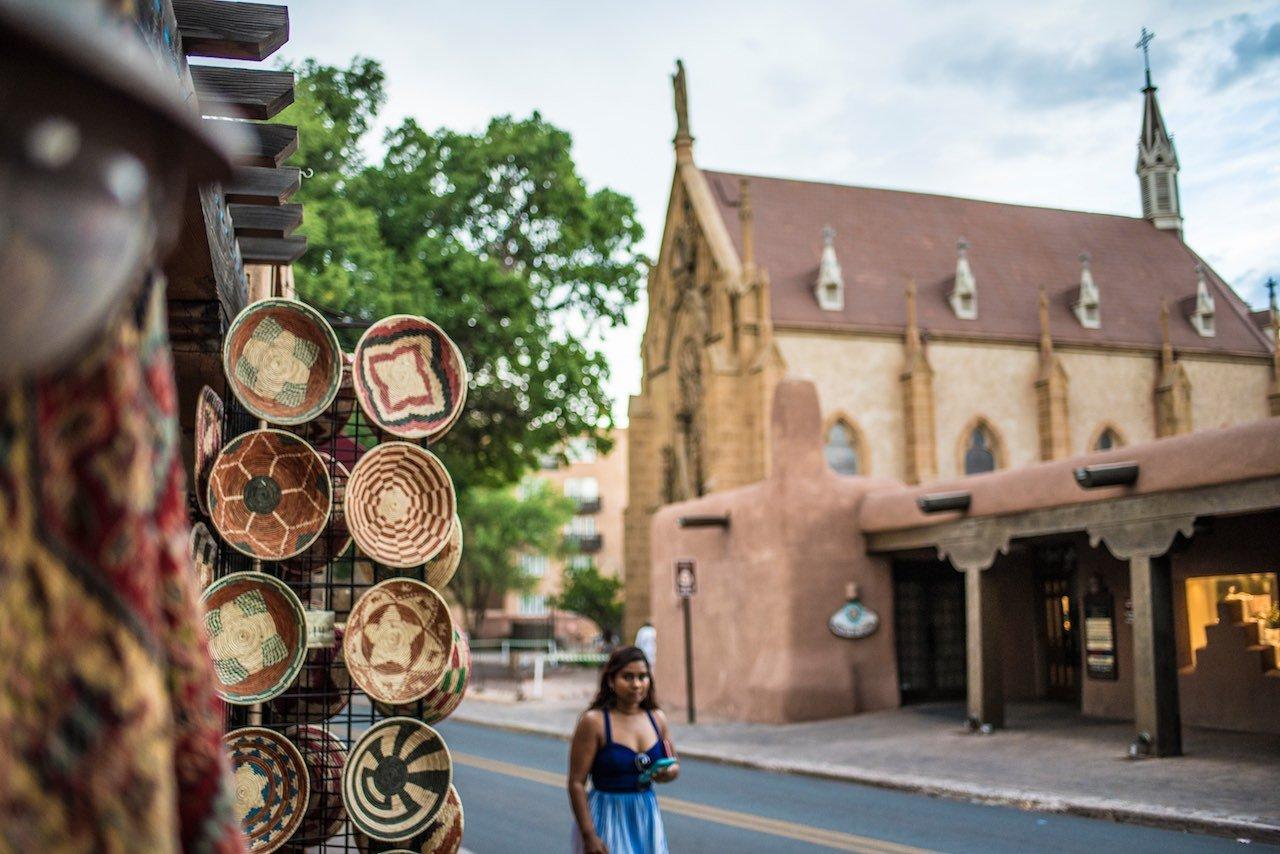 Loretto Church Santa Fe New Mexico