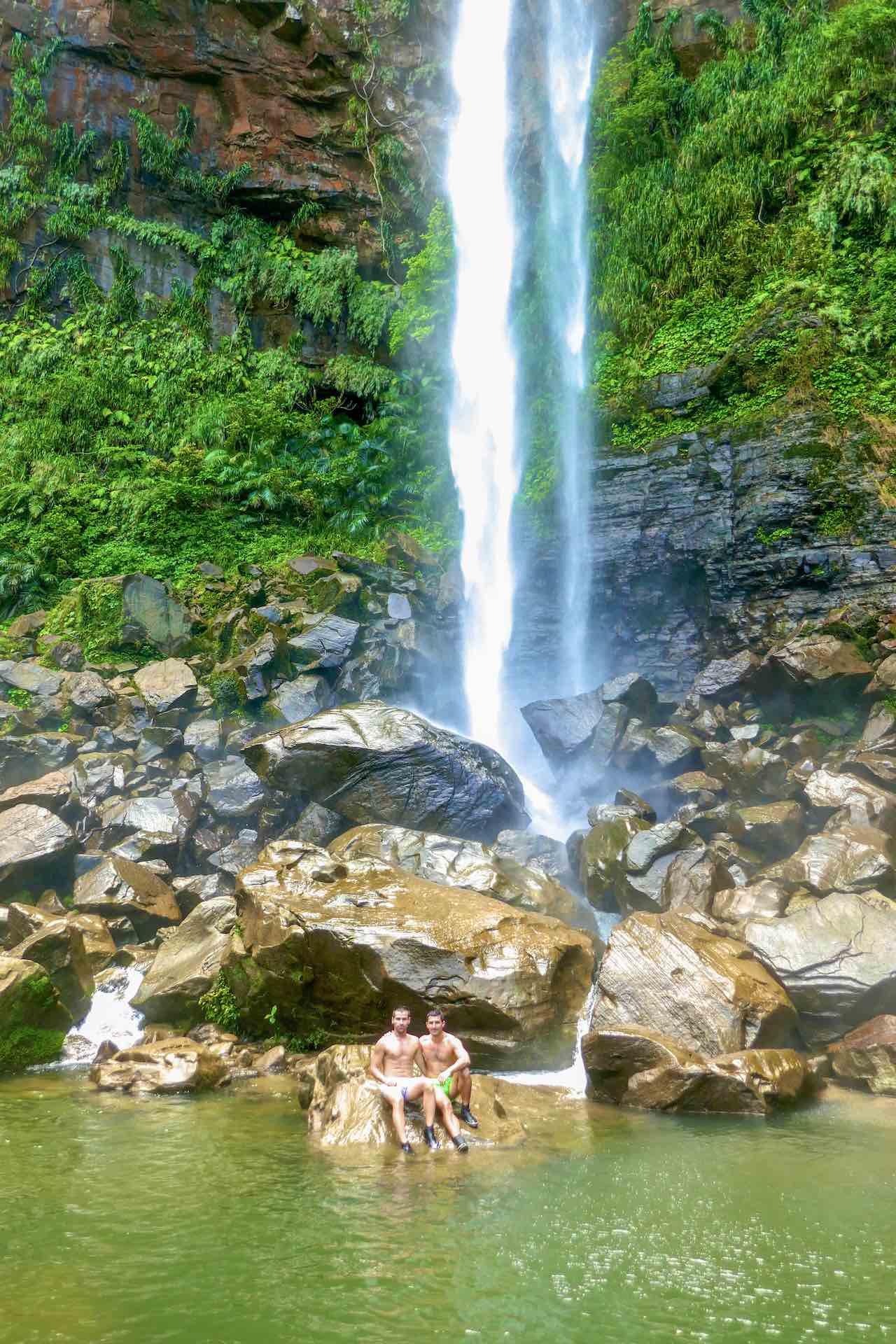 Pinaisara Waterfall Iriomote Japan