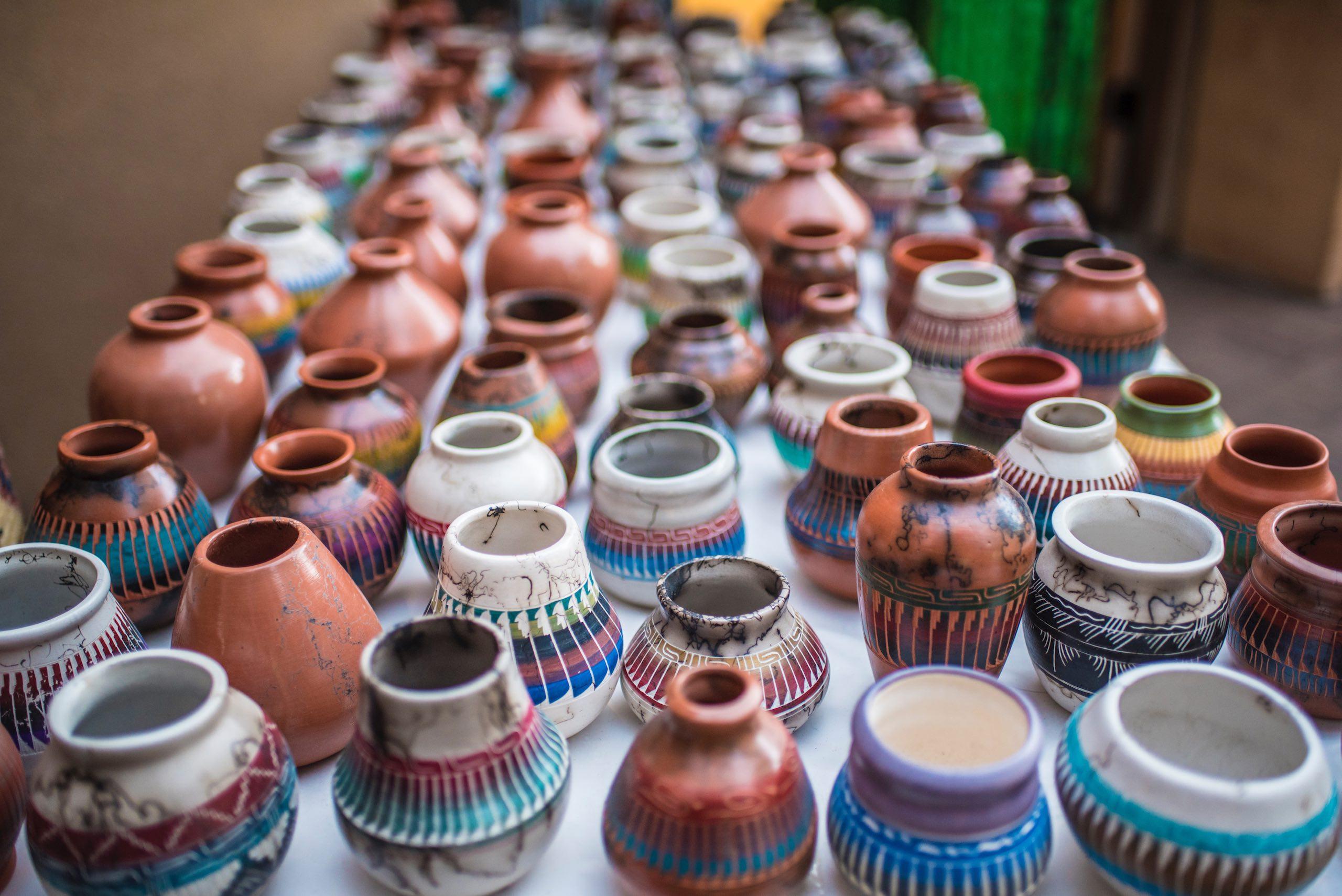 Santa Fe New Mexico Pottery