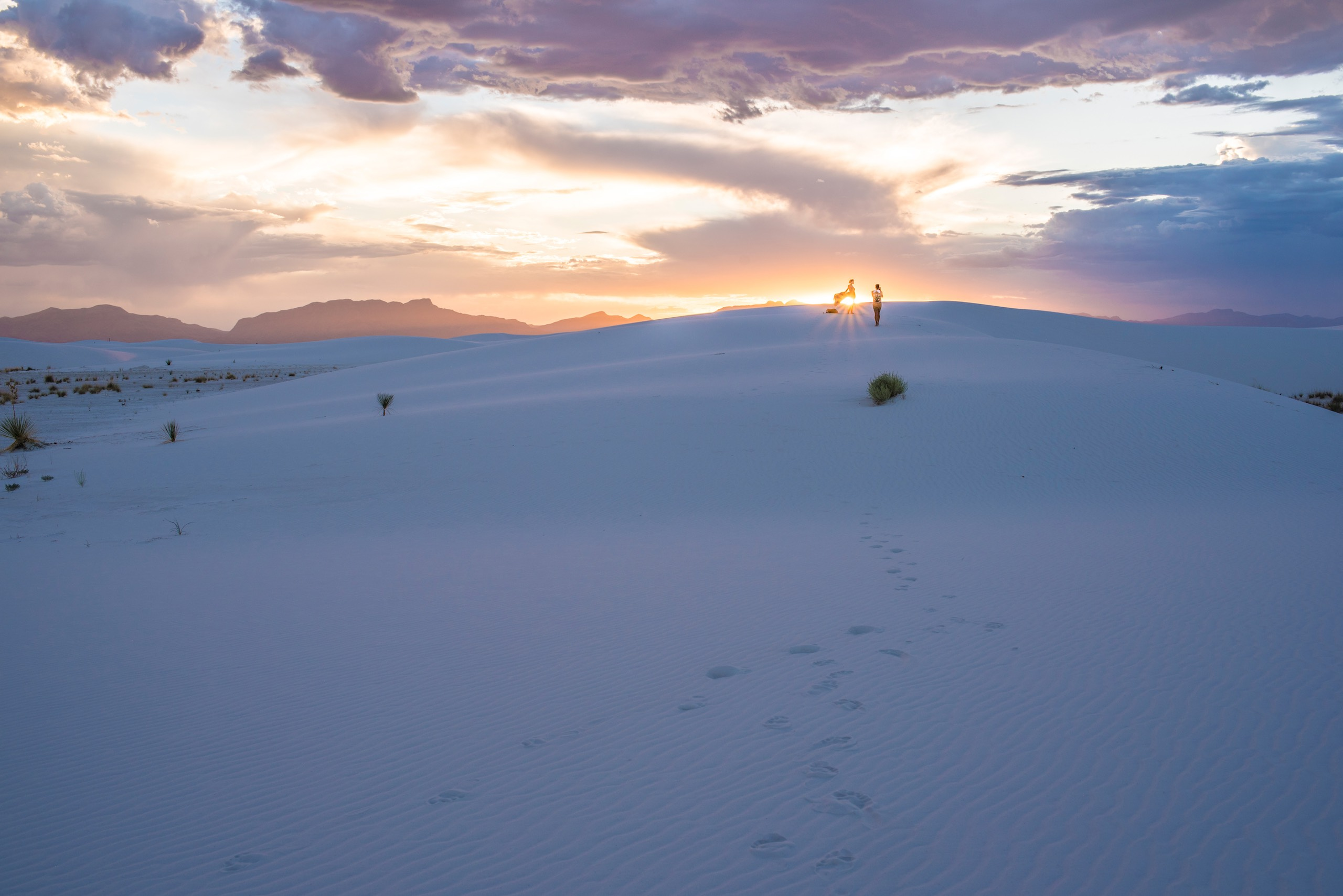 White Sands New Mexico Sunset