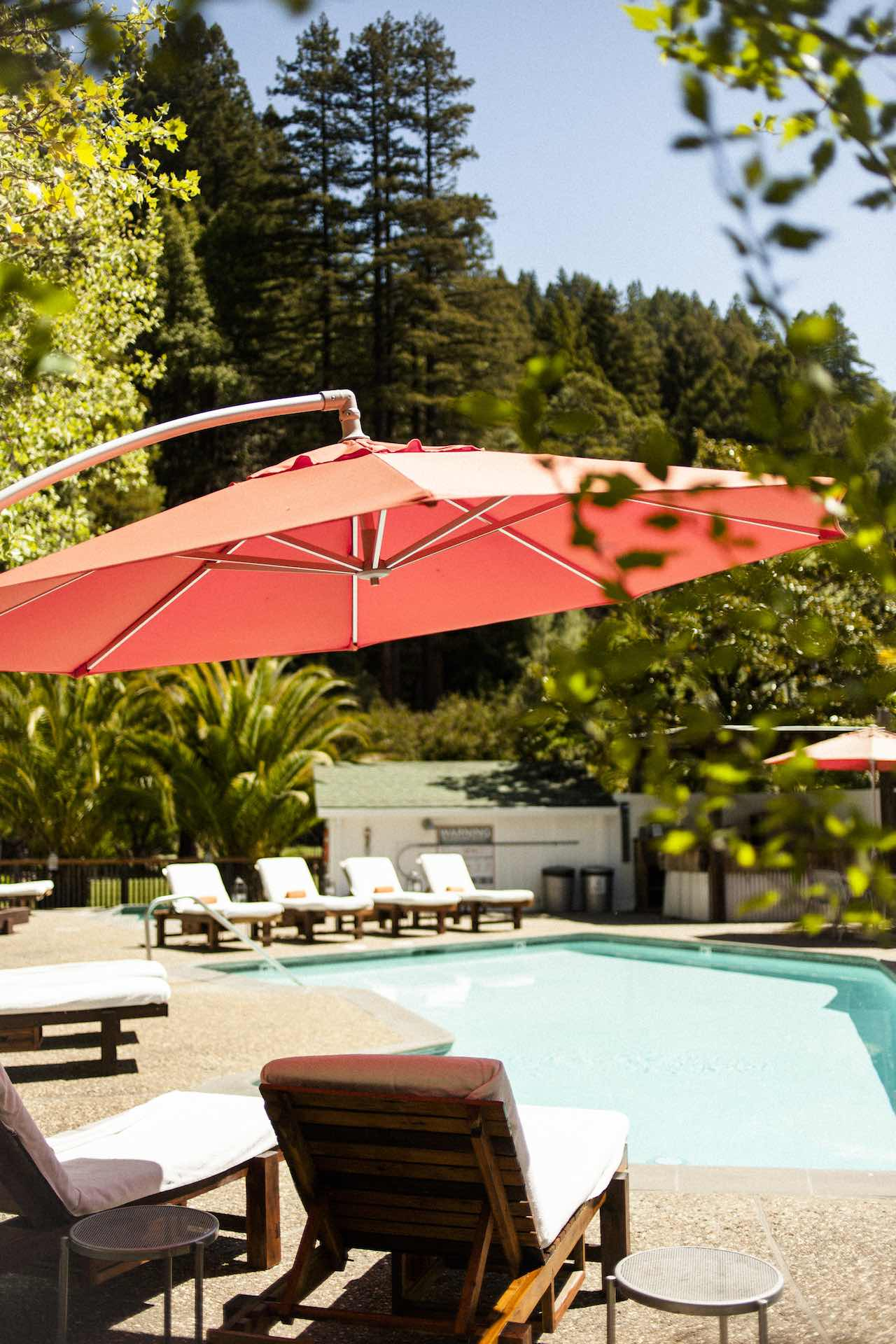 Boon Hotel and Spa Guerneville California Pool