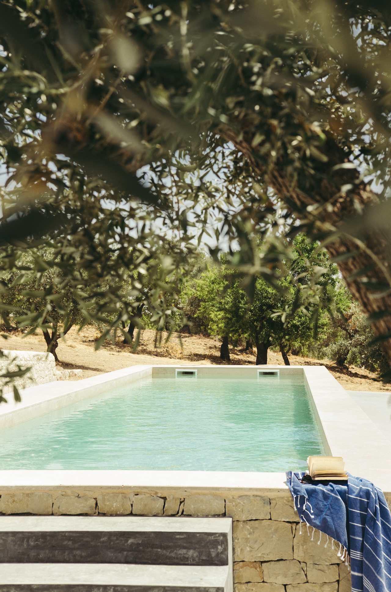 Countryhouse Villadorata Noto Sicily Dell'Ulivo Suite Pool
