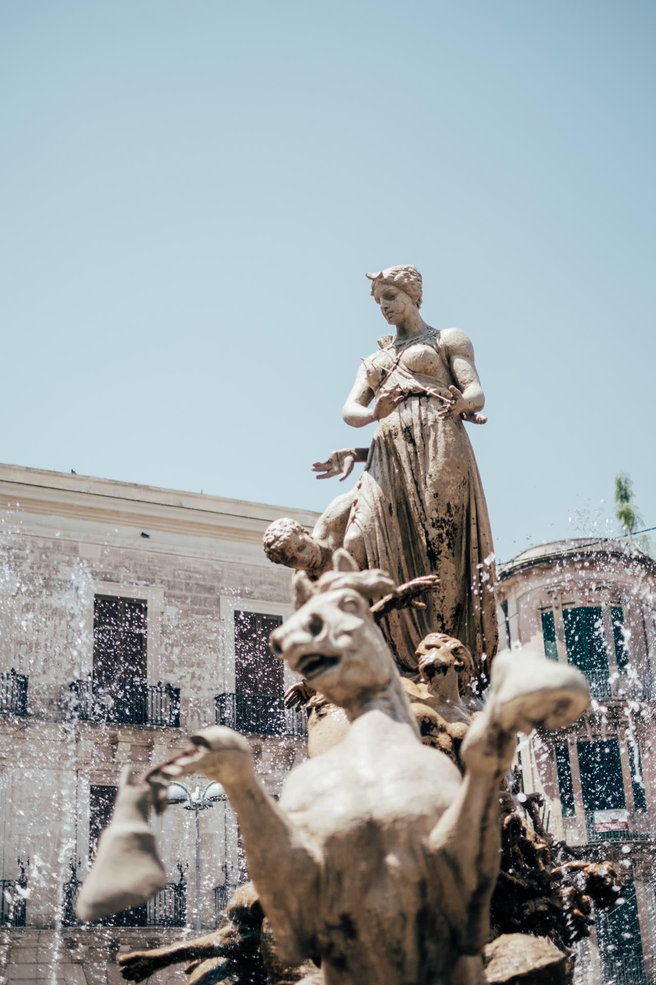 Piazza Archimede Ortigia Siracusa Sicily