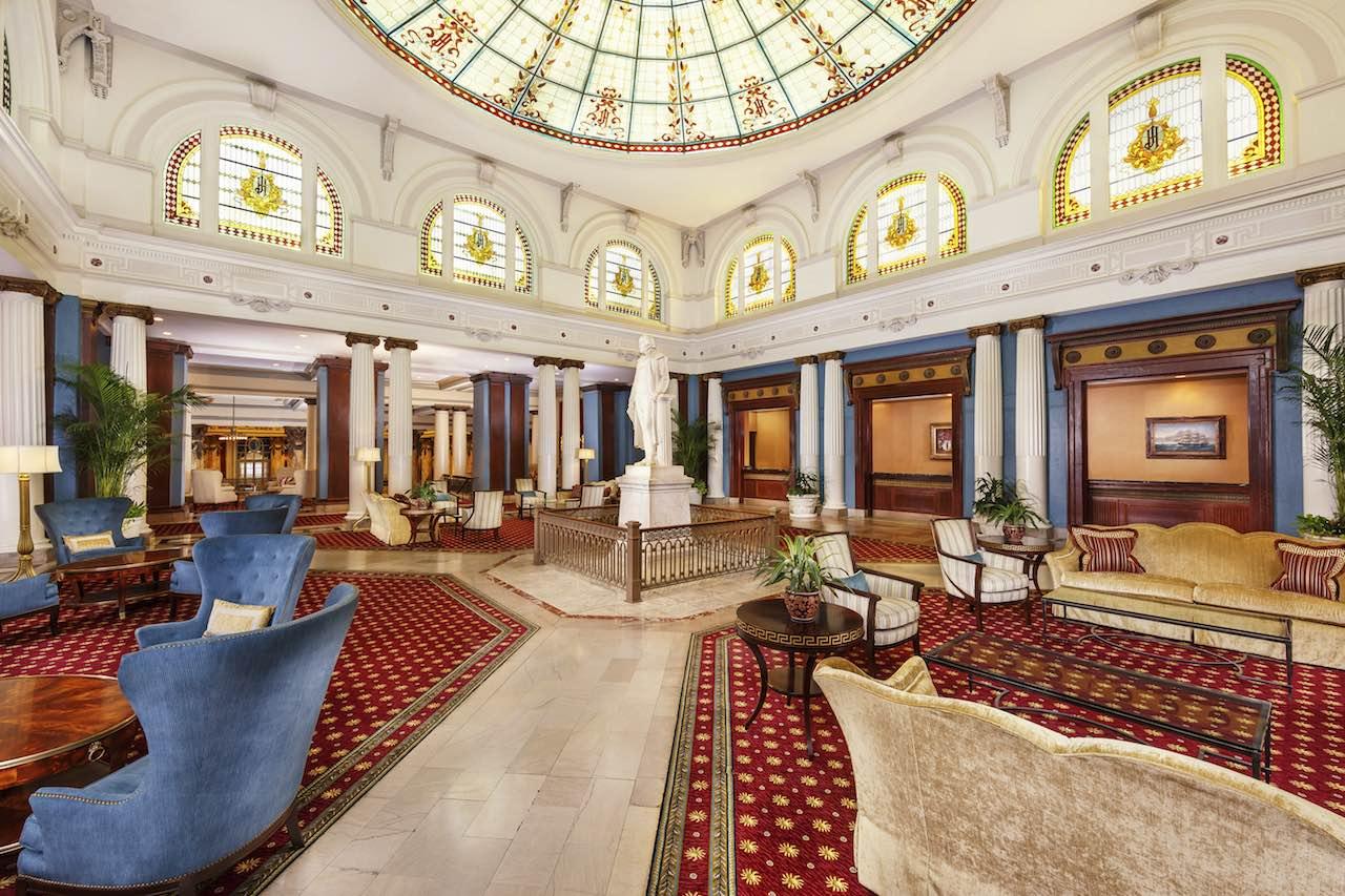 The Jefferson Hotel Richmond Virginia Palmcourt
